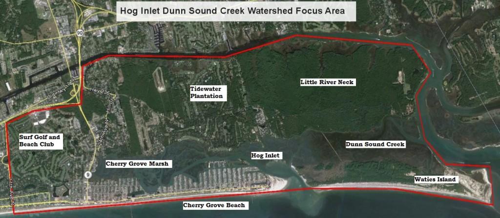 Hog Inlet Dunn Sound Creek Watershed