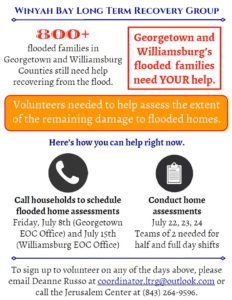 Volunteers - Flood Families
